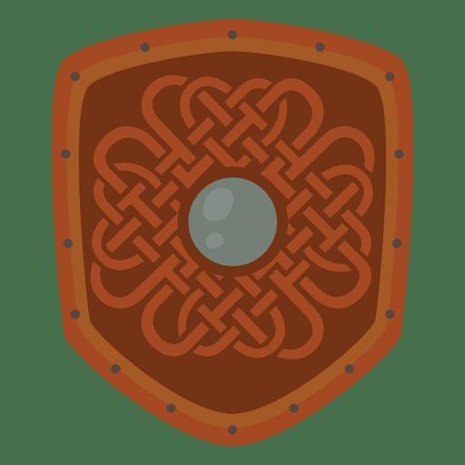 Escudo de guerra vikingo Transparent PNG