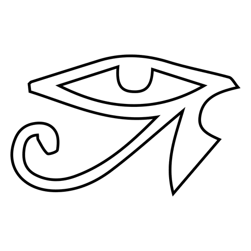 Stroke Yoga Eye Symbol Transparent Png Svg Vector