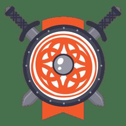 Distintivo de guerra de espada