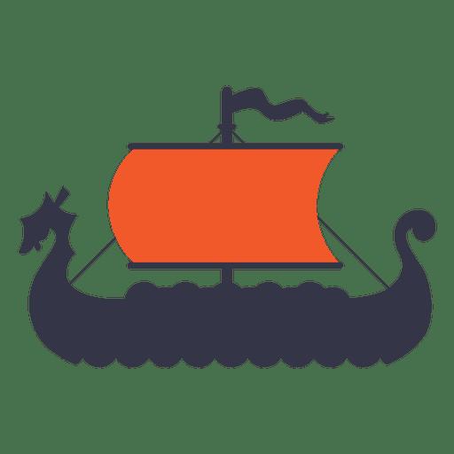 Viking boat ship Transparent PNG
