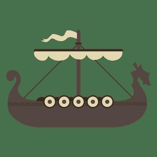 Viking boat ship icon Transparent PNG