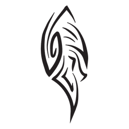 telas a rayas tribales del tatuaje