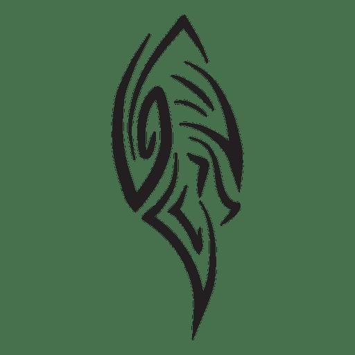 Tattoo tribal pinstripes Transparent PNG