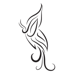 Ornamento tribal a rayas diseño