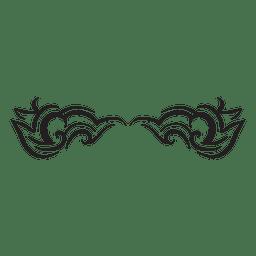 Tribal pinstripes
