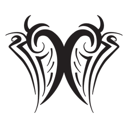 Diseño tribal a rayas