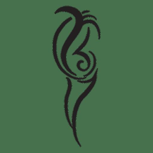 Tribal graphic shape Transparent PNG
