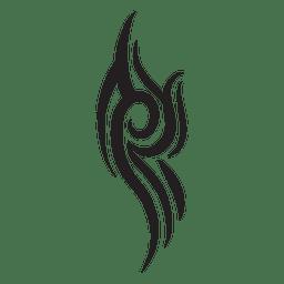Lockige Stammes-Nadelstreifen