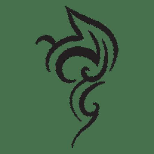 Hand drawn tribal pinstripes Transparent PNG