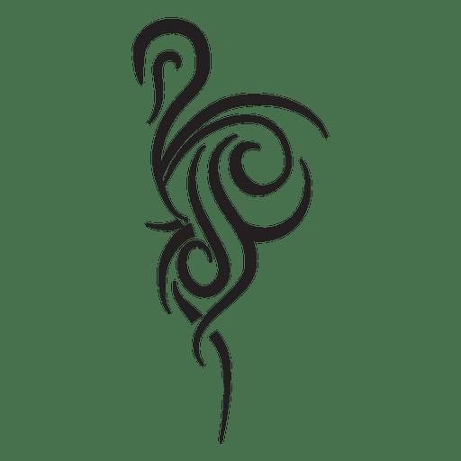 Weird tribal pinstripes Transparent PNG
