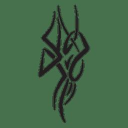 Tribal Vertical Pinstripes
