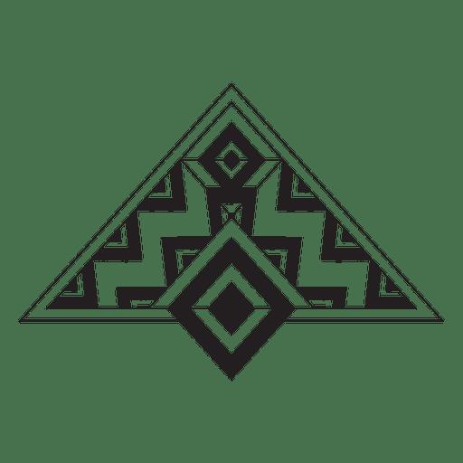 Tribal pinstripes boho Transparent PNG