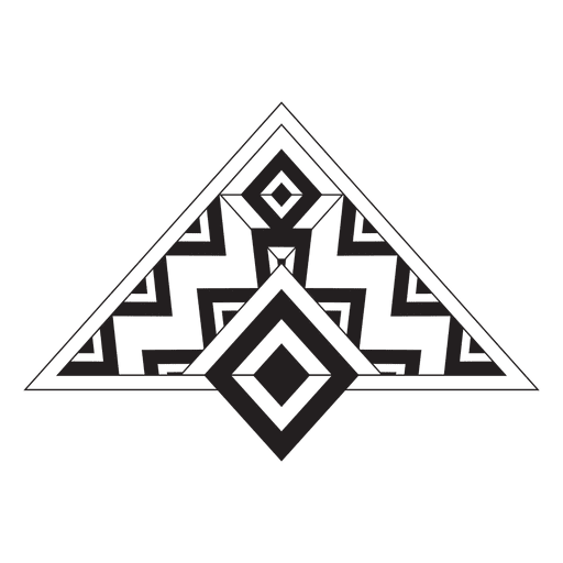 Tribales a rayas boho Transparent PNG