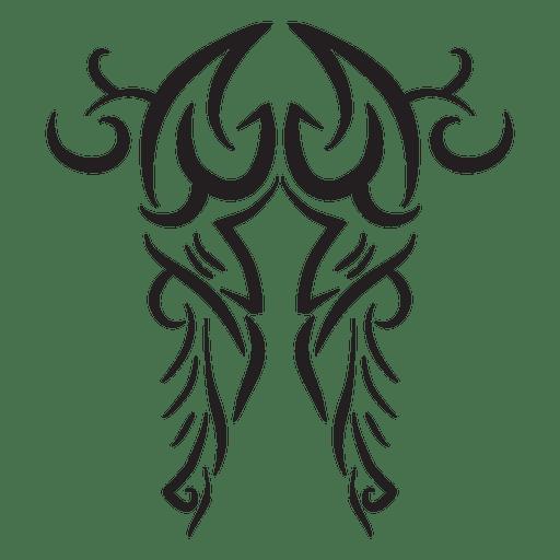 Truck tribal pinstripes stroke tattoo Transparent PNG