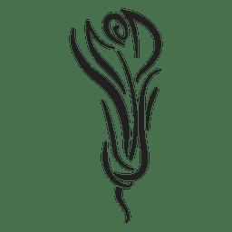 Tatuaje de rayas tribales