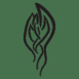 A rayas de tatuajes tribales