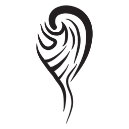 Tribal single wing pinstripe