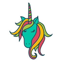 Unicorn animal fantasy illustration
