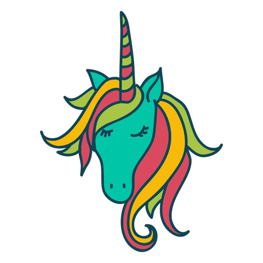 Unicorn animal fantasy illustration Transparent PNG