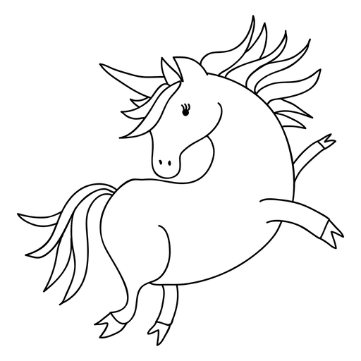 Cute unicorn animal fantasy png