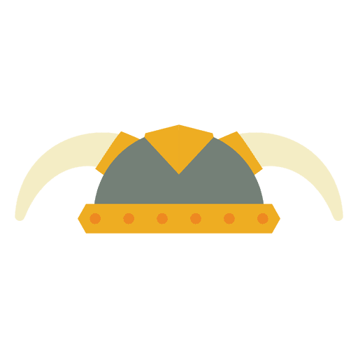 Viking Helmet Icon Transparent PNG