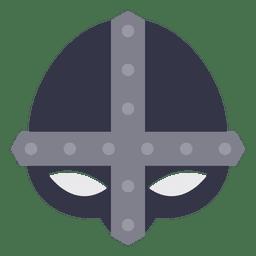 Mascara vikinga casco