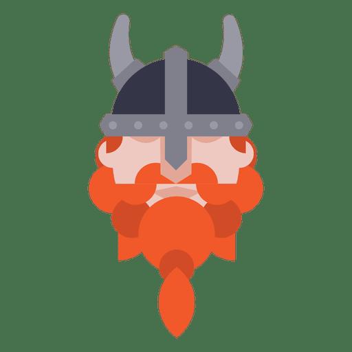 Viking soldier avatar Transparent PNG