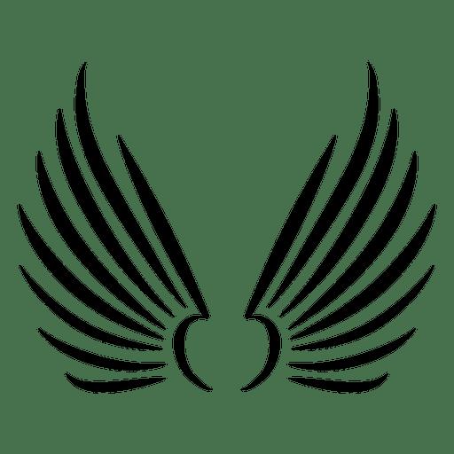 Afiladas alas ascendentes acarician Transparent PNG