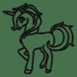 Einhorn-Fantasie