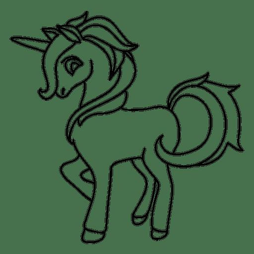Einhorn-Fantasie Transparent PNG