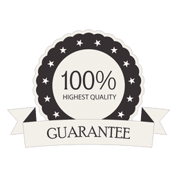 100 percent guarantee retro seal