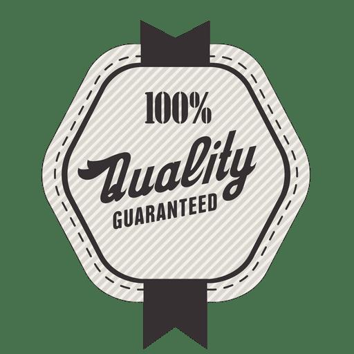 Sello 100% de calidad garantizada. Transparent PNG