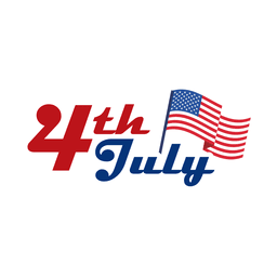 4th july usa logo