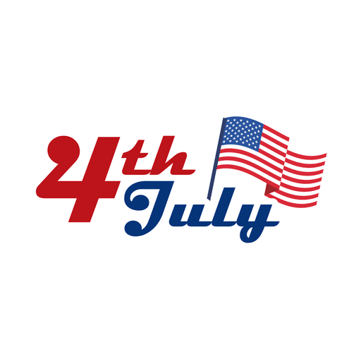 4th july usa logo Transparent PNG
