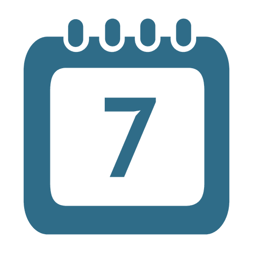 Calendar Icon Png Blue : Th day calendar icon transparent png svg vector
