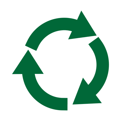 Recycling icon circle.svg