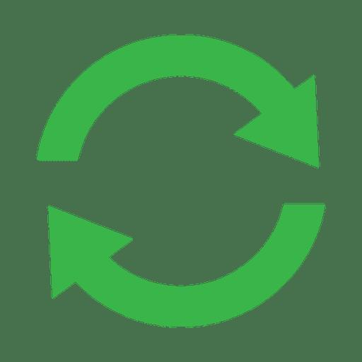 Recycling symbol circle2.svg