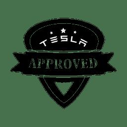 Tesla approve label.svg