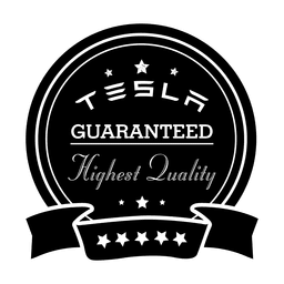 Tesla guaranteed label.svg
