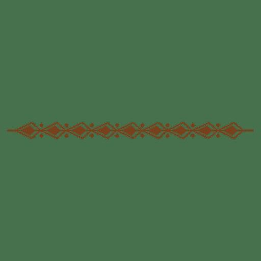 Decoración de la frontera abstracta Transparent PNG
