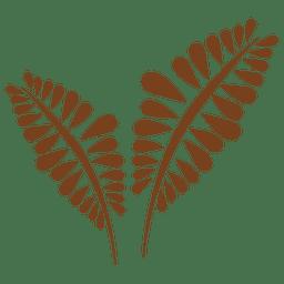 Resumen florales decoración de hojas
