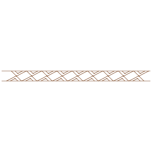 Abstract rectangle line border
