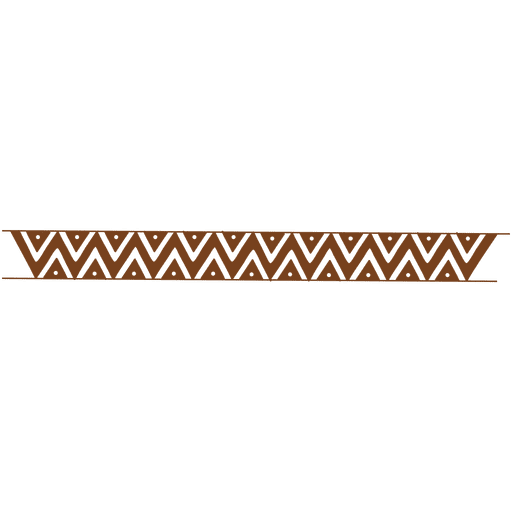 Abstract waving line frame - Transparent PNG & SVG vector