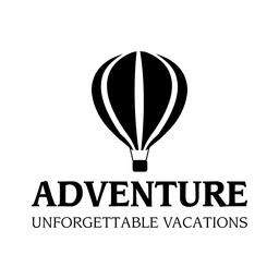 Adventure travel emblem