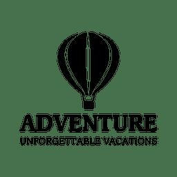 Adventure travel emblem