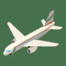 icono de embarque del avión