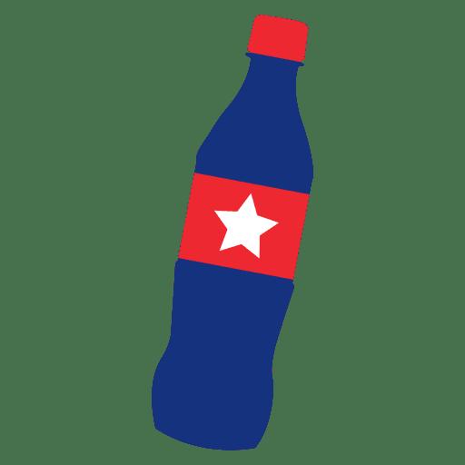 America flag print coke Transparent PNG