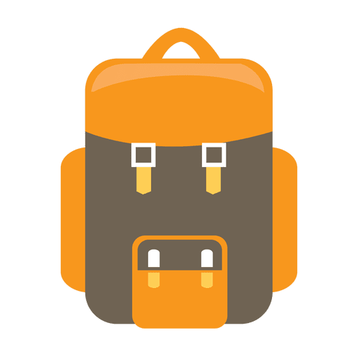 Backpack camping icon Transparent PNG