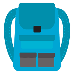 Backpack travel icon