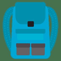 Ícone de viagem de mochila